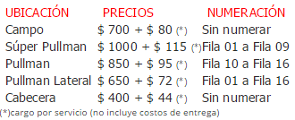 precios entradas Deep Purple